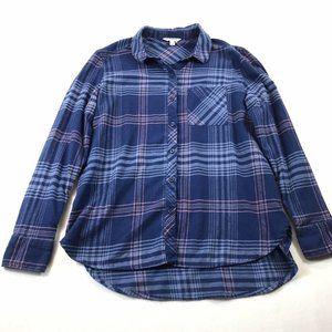 Orvis Classic Collection Button Front Top Size L